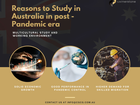 Reasons to Study in Australia in post – pandemic era