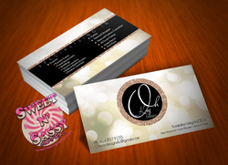 Oh Kay Designs Business Cards