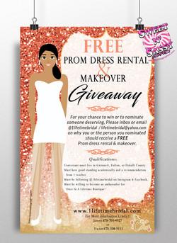 Lifetime Bridal Event Flyer