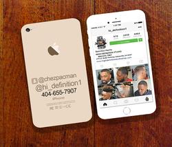 iPhone/Instagram Inspired Design