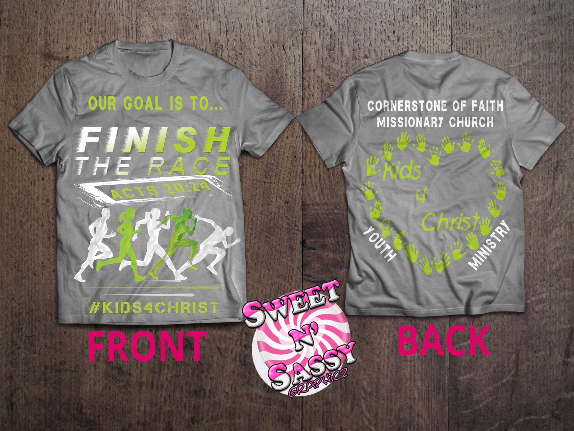 Youth Ministry T-shirt Design