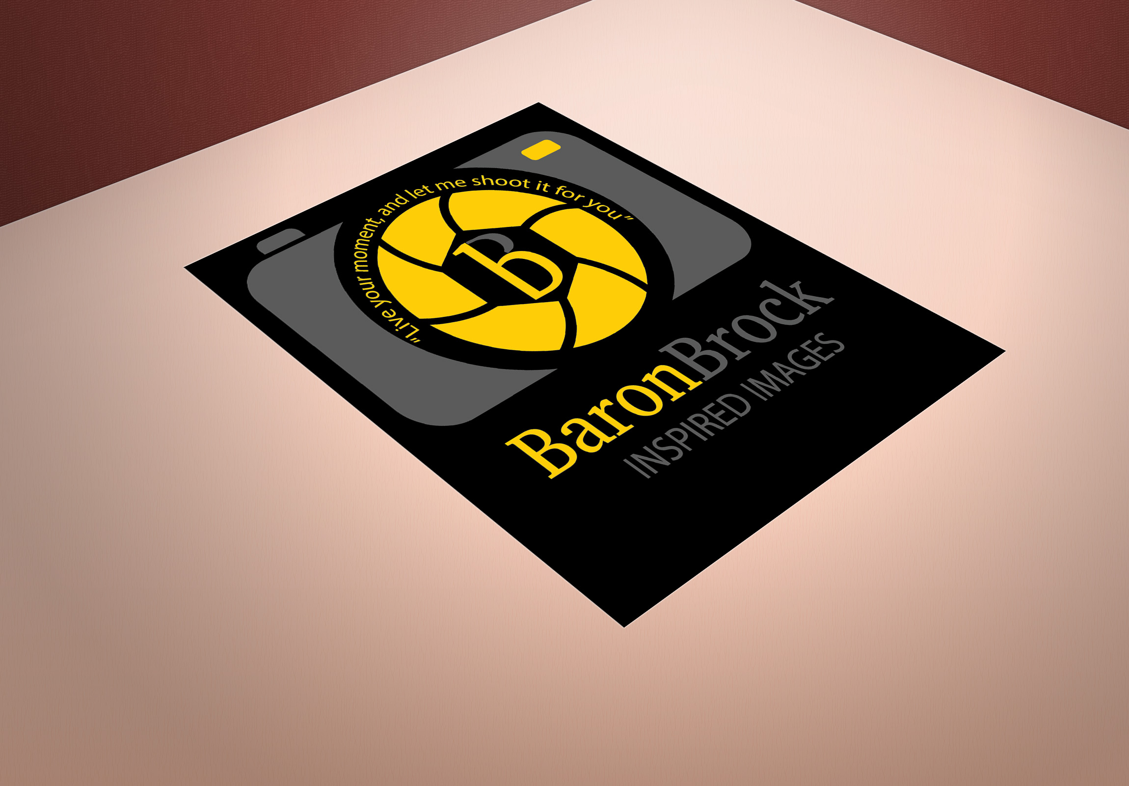 Baron Brock Inspired Images Logo