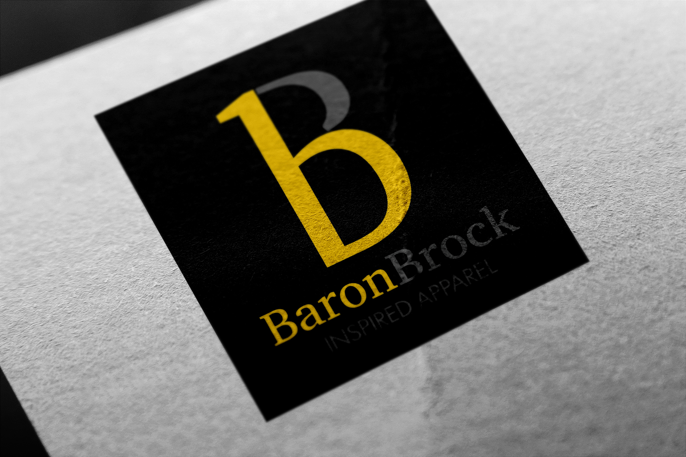 Baron Brock Inspired Apparel Logo