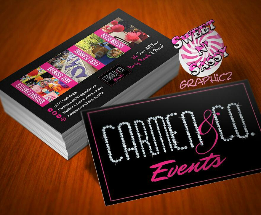 Diamond Logo Business Cards