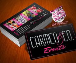 Diamond Logo Business Cards