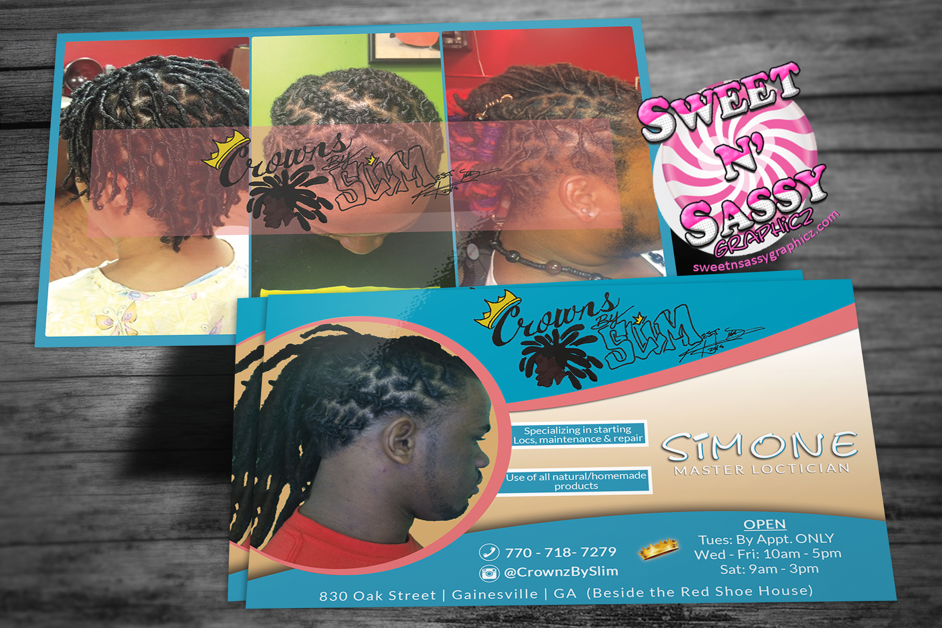 Crownz Post Card Flyer