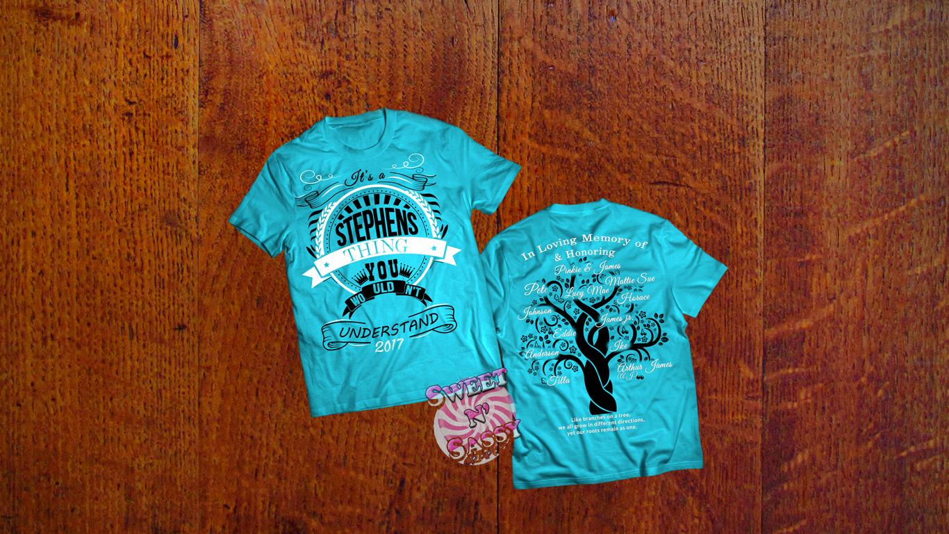 Reunion T-shirt Design