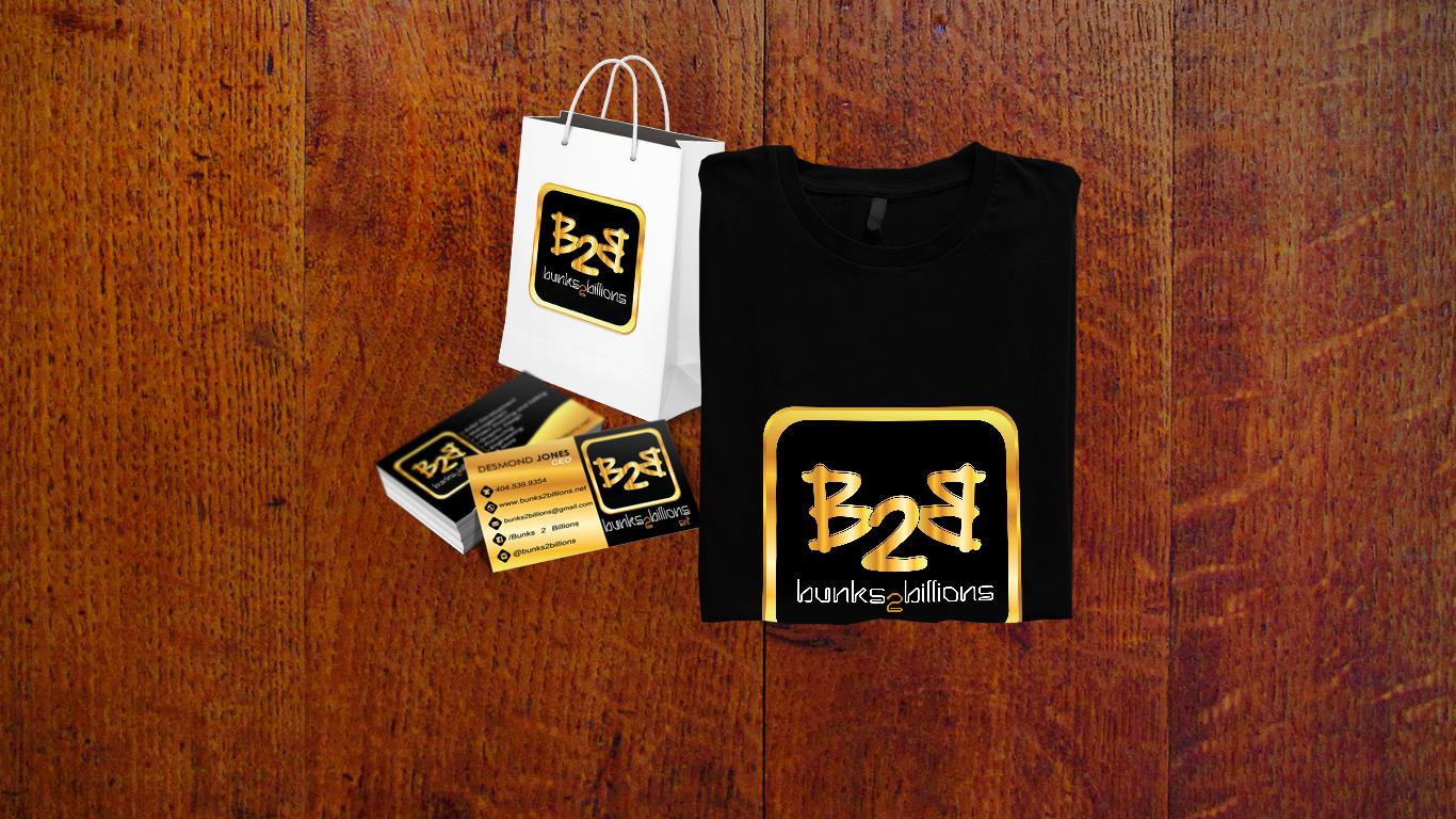 Bunks 2 Billions Branding
