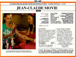JEAN-CLAUDE MOVIE