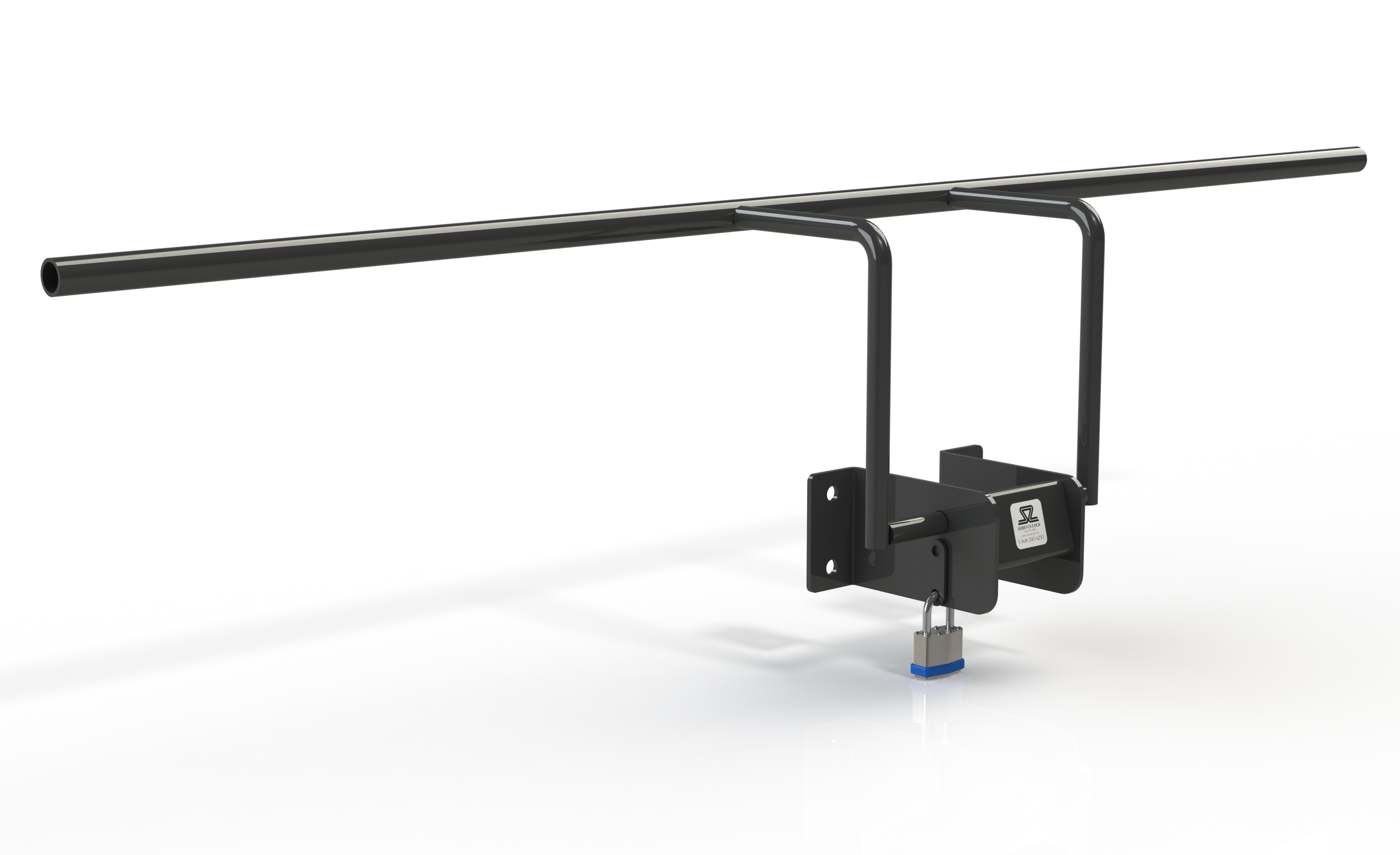 Front Mount Automatic Dumpster Lock