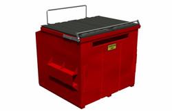 Lock Release Automatic Dumpster Lock