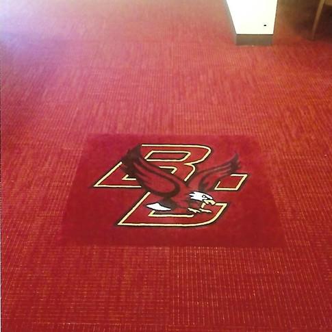 BC Logo Carpet