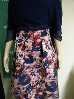 zelfgemaakte rok