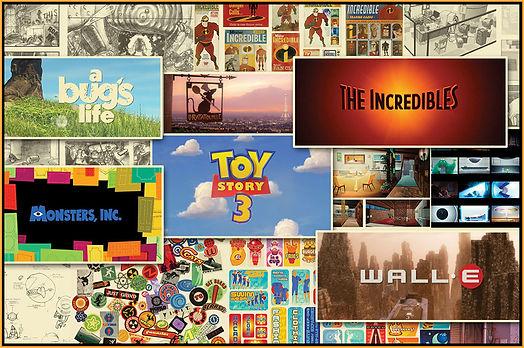 Pixar Art Gallery
