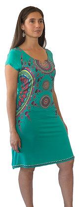 Vestido Verde Mandala.