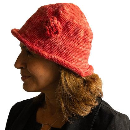 Sombrero Estilo Finlandia Coral Melange