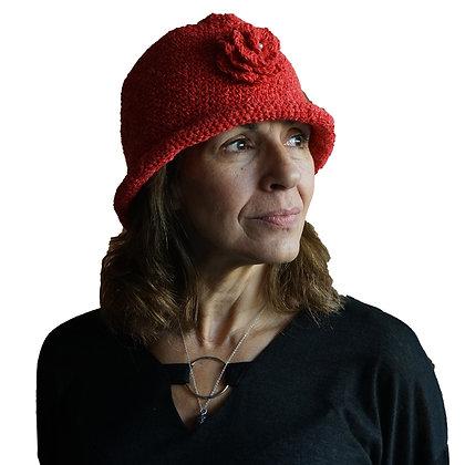 Sombrero estilo Finlandia Rojo