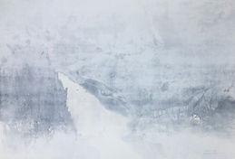 Fade away Acrylic sumi ink on paper 20 3_4 x 30 1_4 in 2021.jpeg