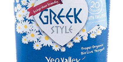 Yeo Valley greek style yogurt (950g)