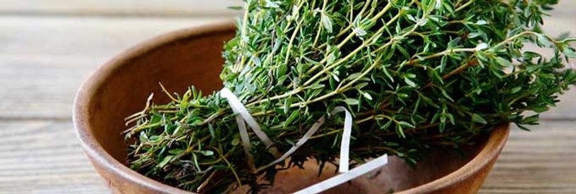 Fresh thyme (100g bunch)