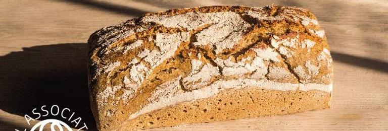 Light Rye Sourdough Loaf