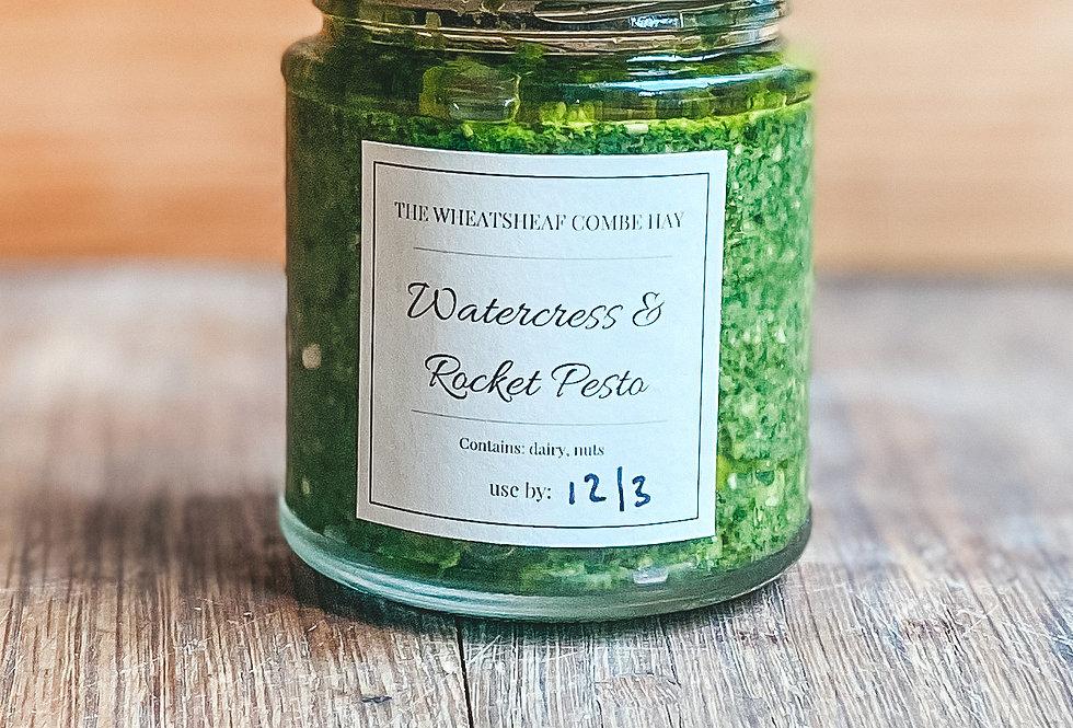 Homemade Watercress & Rocket Pesto