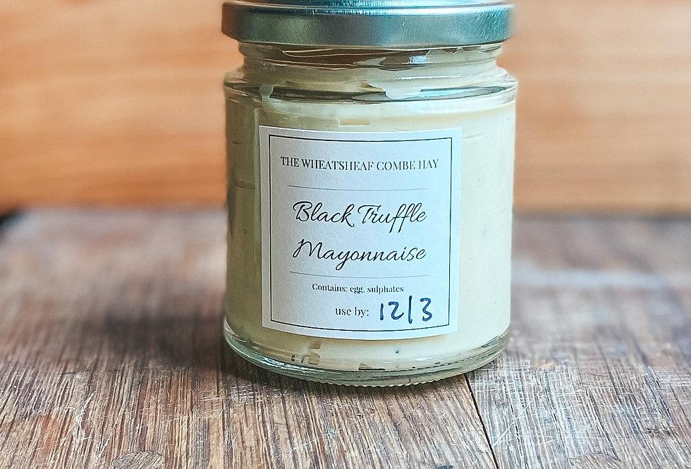 Homemade Black Truffle Mayonnaise
