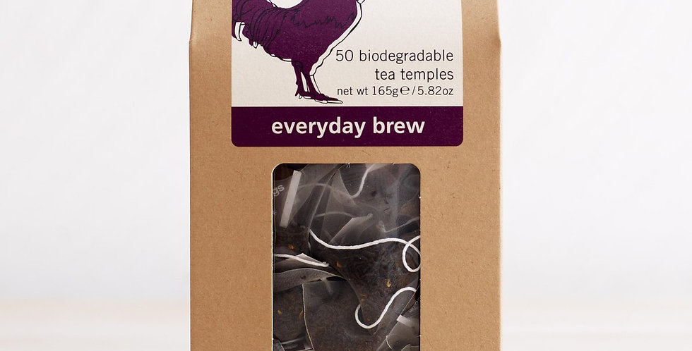 Teapigs Everday Brew 50 Biodegradable tea temples