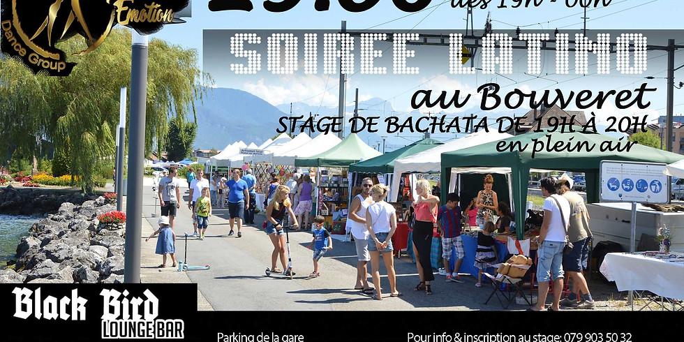 Soirée latino + Stage de Bachata au Bouveret