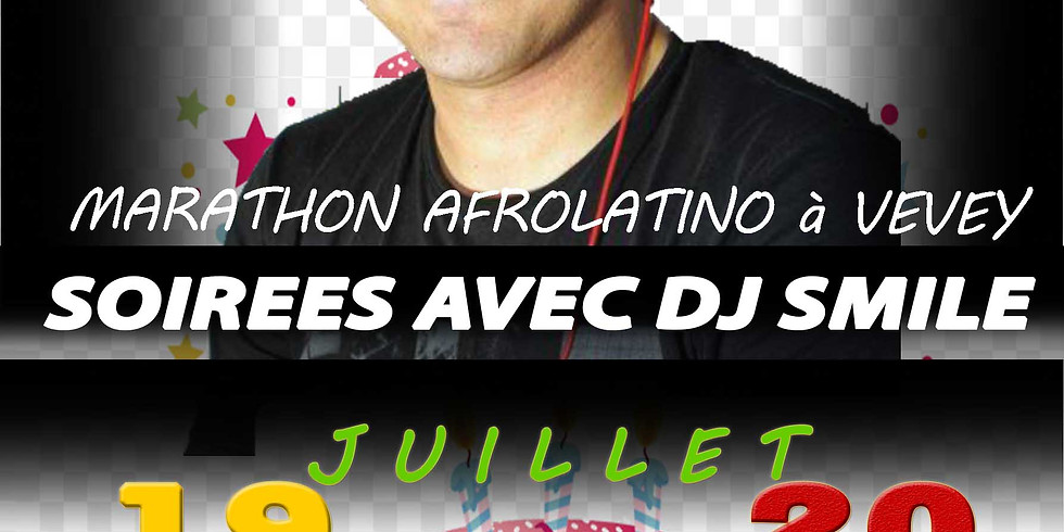 Marathon AfroLatino avec Dj Smile à Vevey