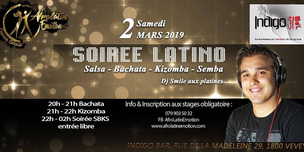 Soirée Latino SBKS à Vevey