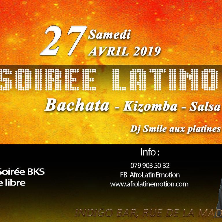 Soirée Latino Bachata-Kizomba-Salsa à Vevey