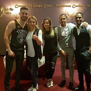 Concert du Grupo Extra à Montreux Casino
