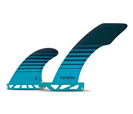 Futures.  Hatchet 2+1 Longboard Fin