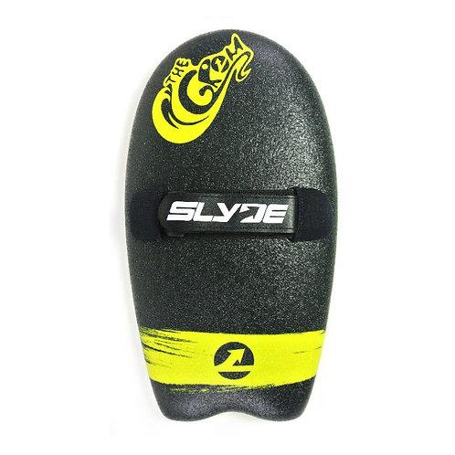 Slyde Grom Handboard - Black & Lemon