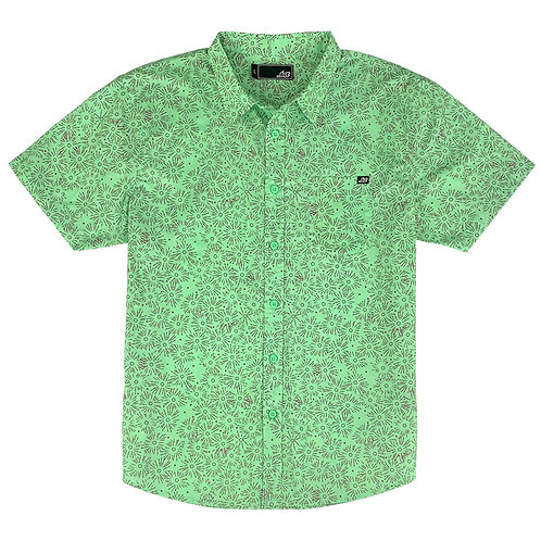 ...Lost High Beams Woven Shirt Neo Mint