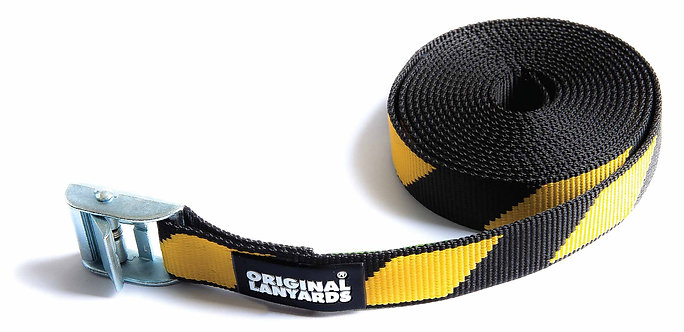 Original Lanyards Fix Roof Straps - Black/Yellow
