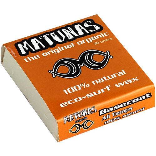 Matunas 100% Natural & Organic Surf Wax - Base Coat