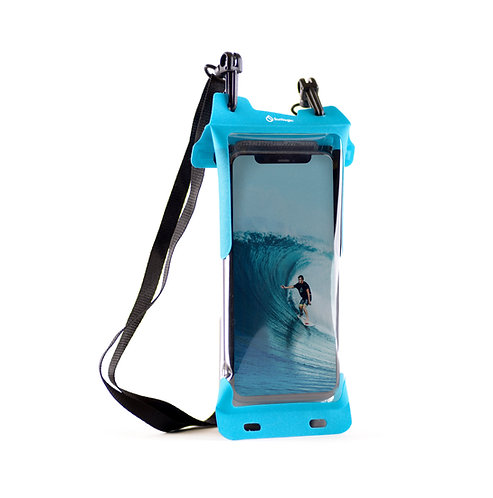 Surflogic Waterproof Phone Case - Blue