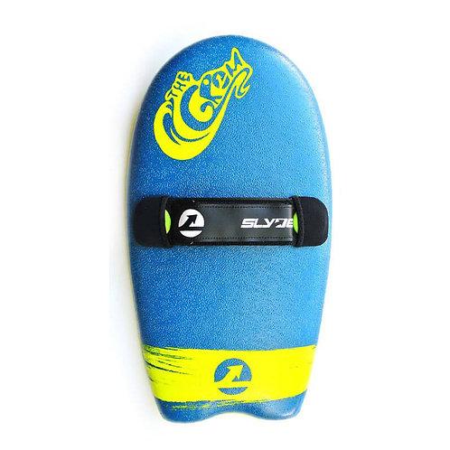 Slyde Grom Handboard - Navy Blue & Electric Lemon