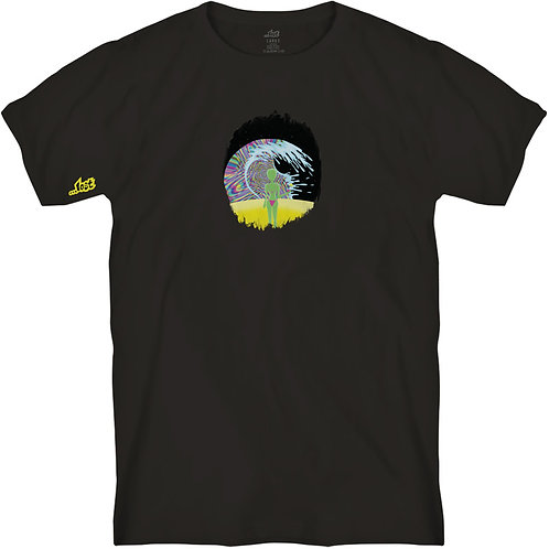 ...Lost Cosmic Tropics Tee Black