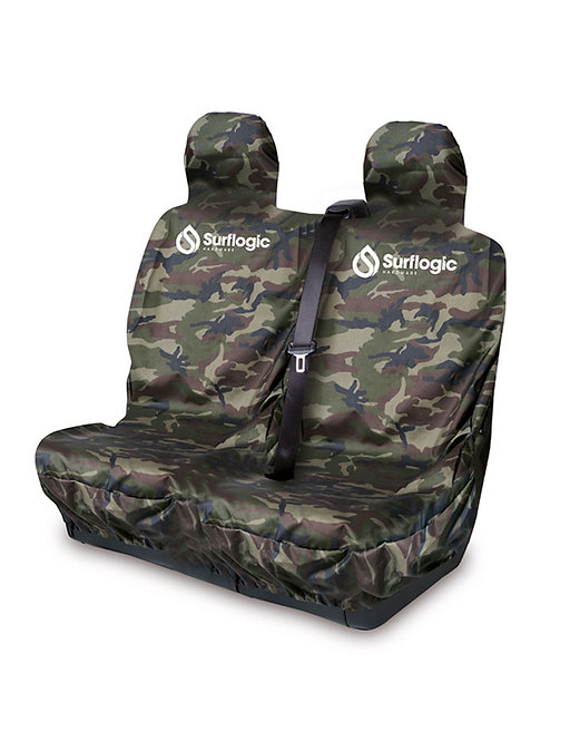Surflogic Waterproof Car Seat Cover Double - Camo