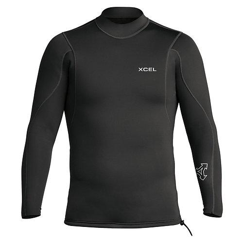 Xcel Axis Longsleeve 2/1mm Wetsuit Jacket - Black