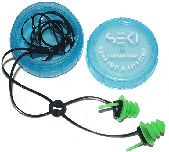 SEKI Surf Earplugs