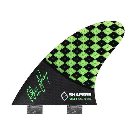 Shapers Carbon Flare AP01 Tri Fin Set