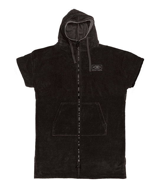 Ocean & Earth Dawnbreaker Hooded Poncho - Black