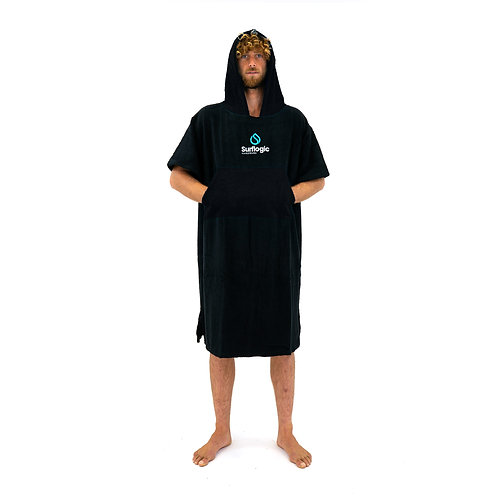 Surflogic Poncho - Black