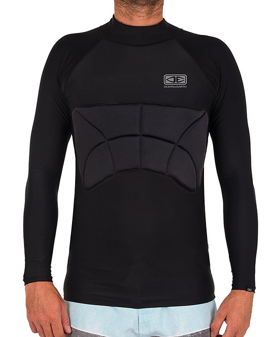 Ocean & Earth Rib Guard Padded Long Sleeve Vest