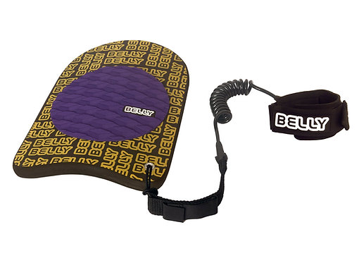 Belly The Beachie Handplane Yellow & Purple