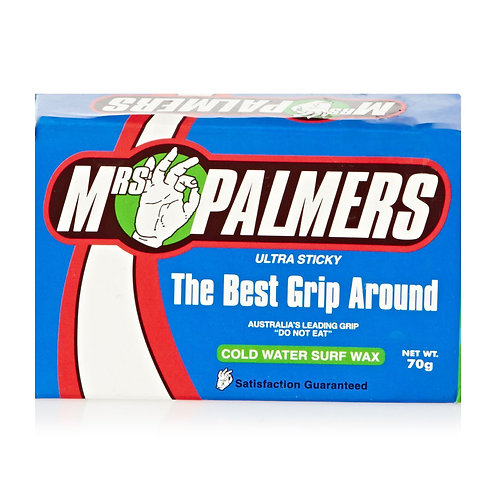 Mrs Palmers Ultra Sticky Surf Wax - Cold Water